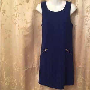 Banana Republic Royal Blue Sleeveless Dress